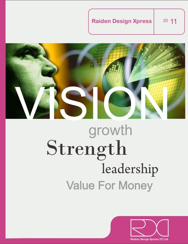 Raiden Design Xpress                20      11VISIONgrowth Strength          leadership   Value For Money                 ...