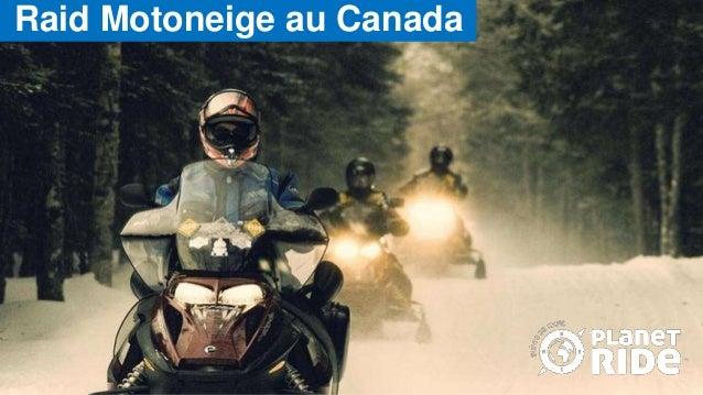 Raid Motoneige au Canada