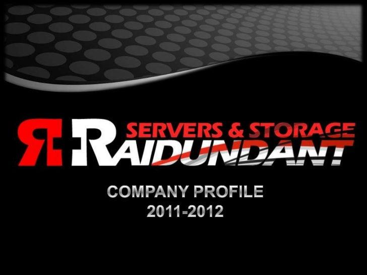 COMPANY PROFILE<br />2011-2012<br />