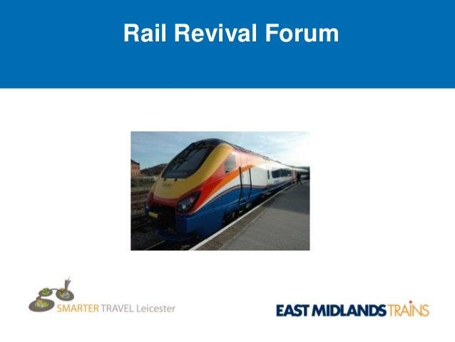 Rail revival presentation