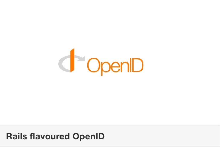 Rails flavoured OpenID