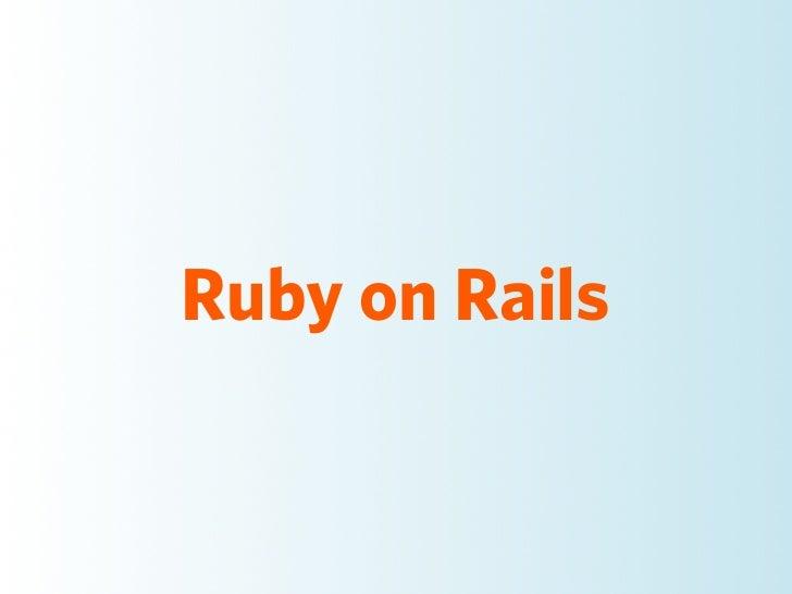 Nedap Rails Workshop