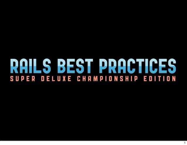 Rails best practices_slides