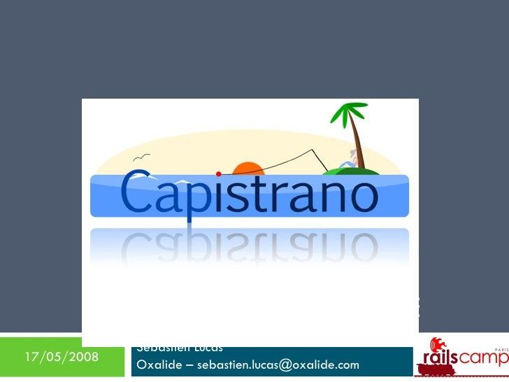 Retour d'expérience sur Capistrano