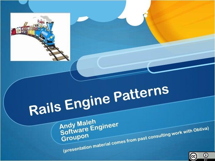 Rails Engine Patterns