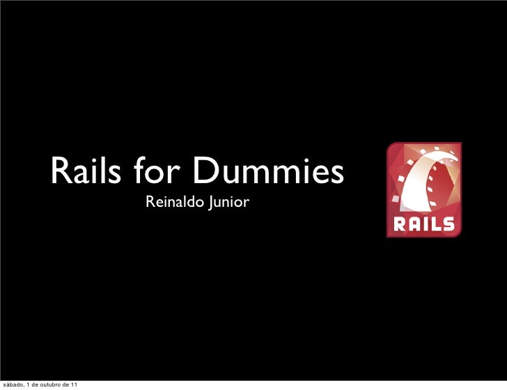 Rails for Dummies