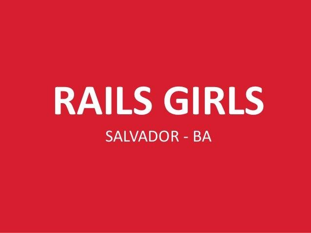 Rails Girls Salvador