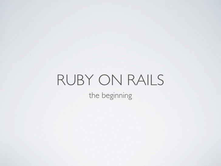 Rails Presentation (Anton Dmitriyev)
