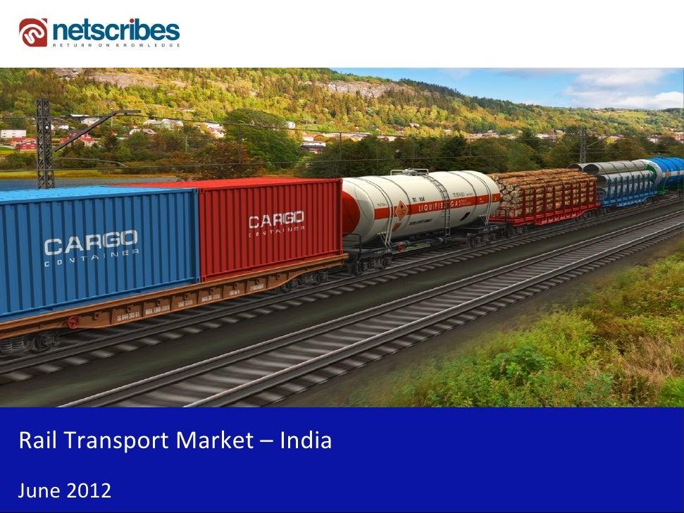 Insert Cover Image using Slide Master View                             Do not distortRailTransportMarket– IndiaJune2012
