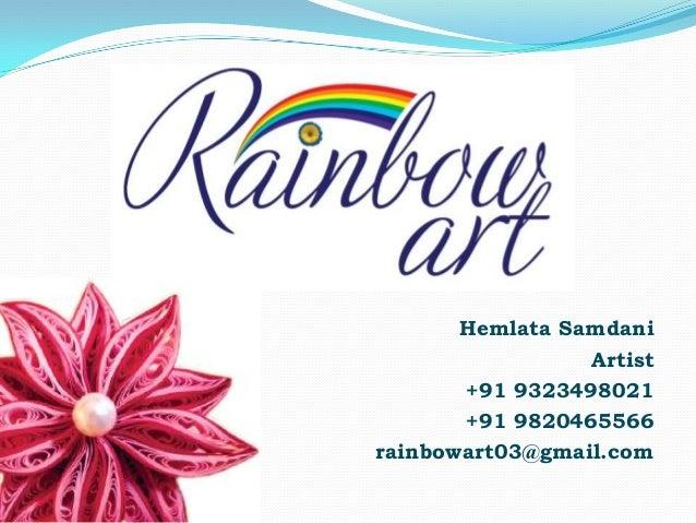 Rainbow Art Portfolio