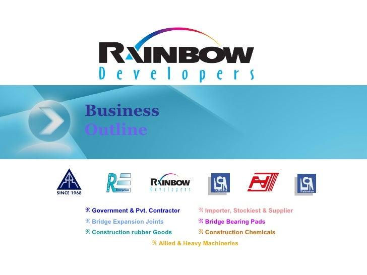 Business Outline KOREA Pakistan <ul><li>Allied & Heavy Machineries </li></ul><ul><li>Construction Chemicals </li></ul><ul>...