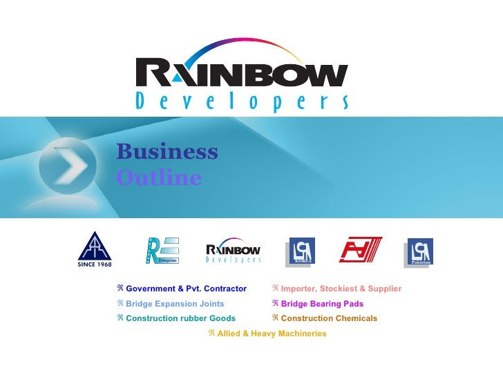 Rainbow  Developers With  Blue  Background
