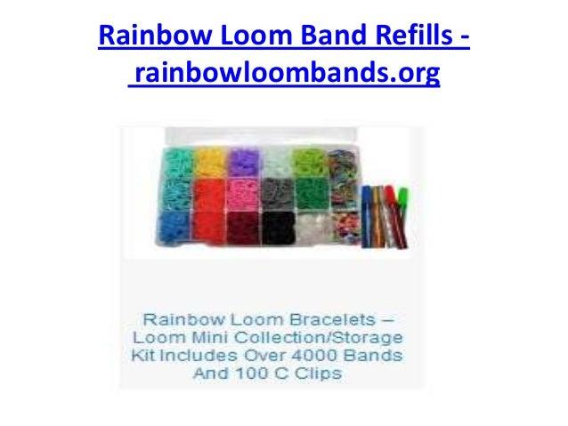 Rainbow Loom Band Refills - rainbowloombands.org