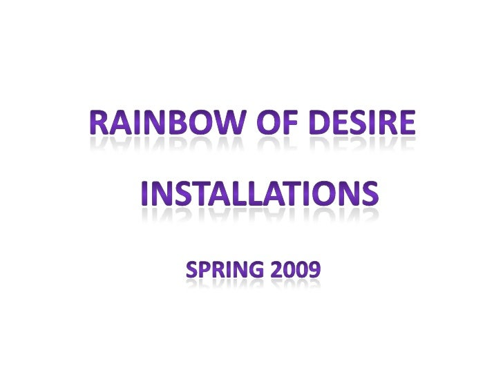 Rainbow Of Desire