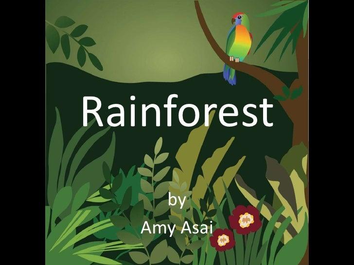 Rainforest     by   Amy Asai