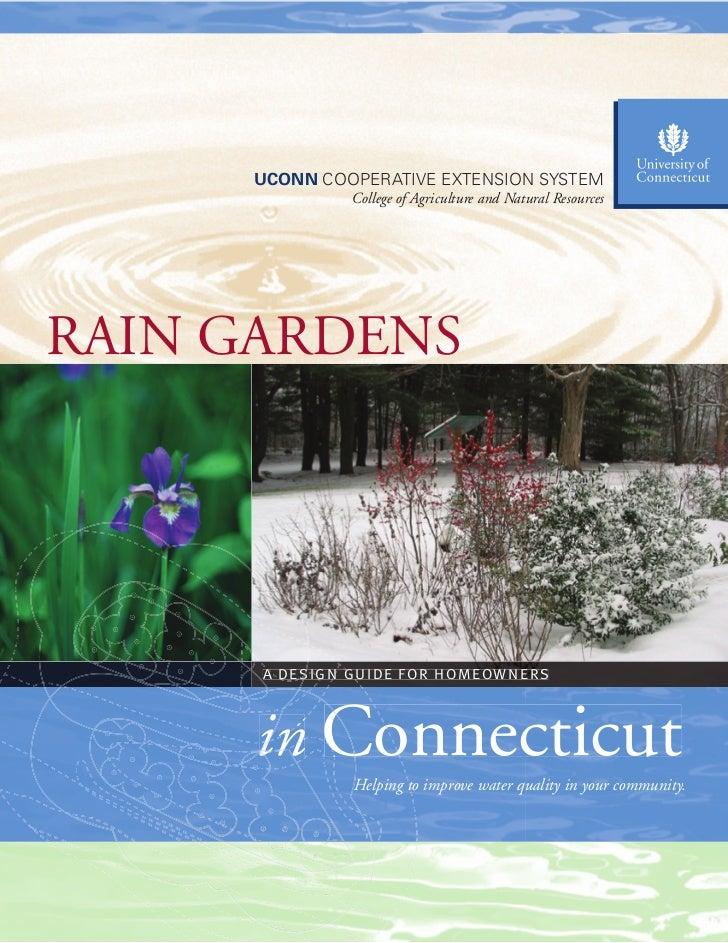 Connecticut Rain Gardens Manual
