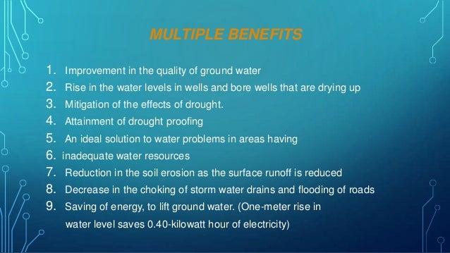 essay on importance of rainwater harvesting