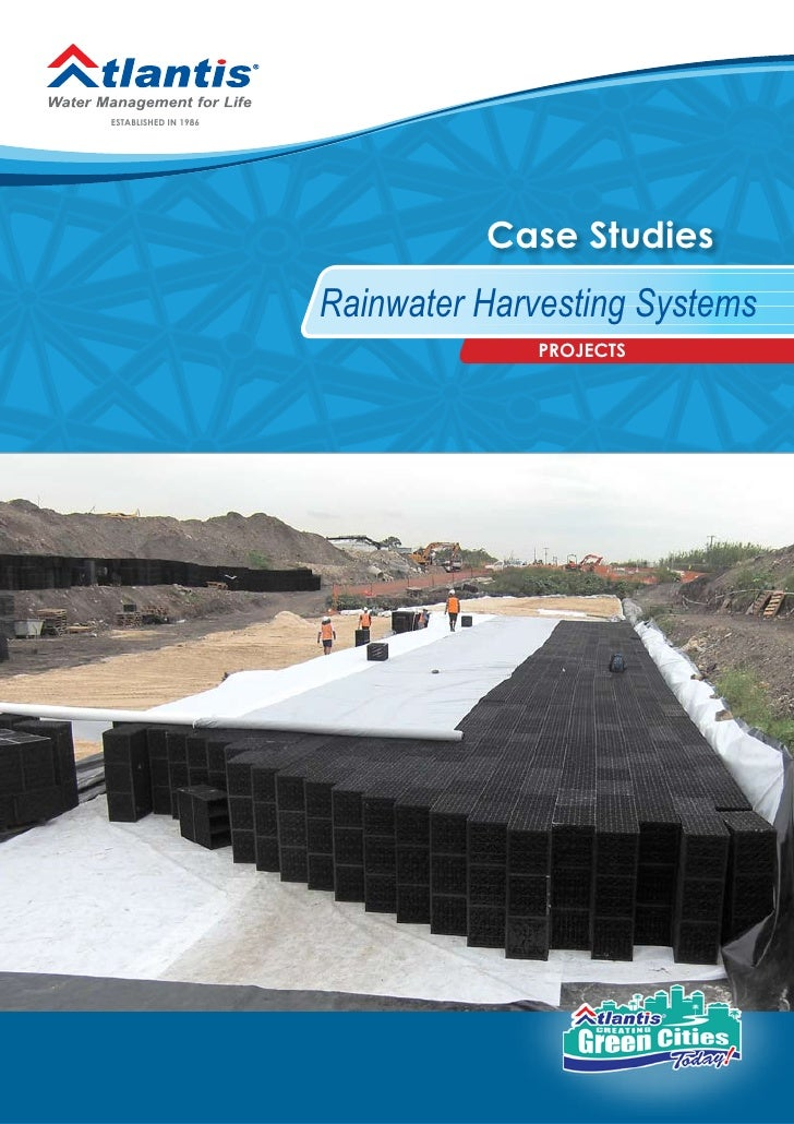 Rainwater Harvesting Systems - Case Studies