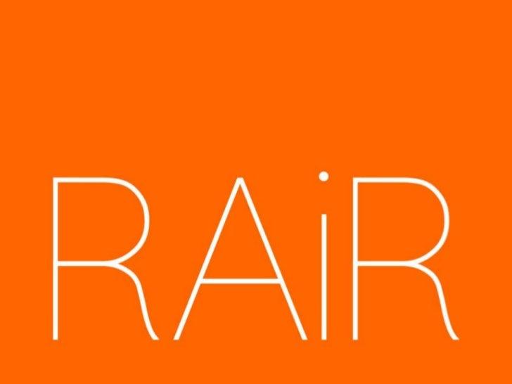 RAiR forum presentation