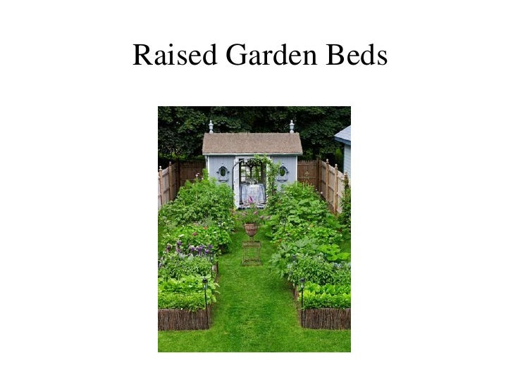 Raised Garden Beds<br />