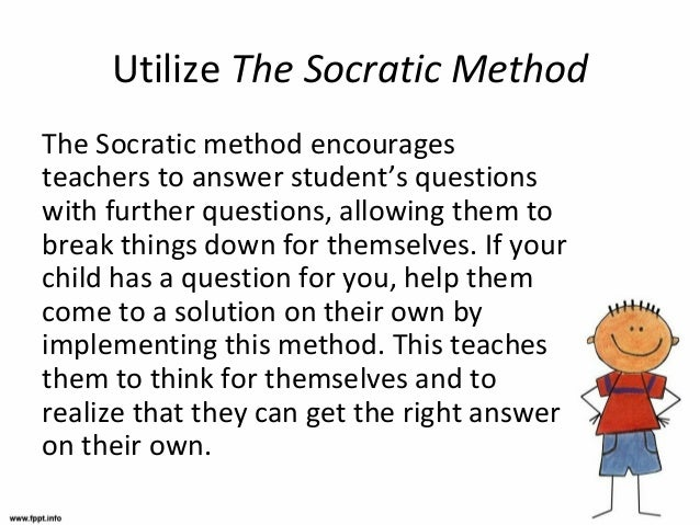 an analysis of aim method socratic dialectic The socratic method is a way of discussing ideas by, well, questioning them  they usually find a belief a  a loose interpretation of the concept behind the  reason why socratic method came to be: socrates found that  philosophy –  aims, methods, rationale  what is the socratic dialectic method what  questions do.