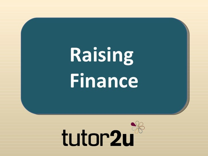 Raising Finance for an Established Business