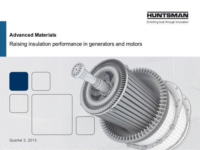 Raising insulation performance in generators and motors - Highlight