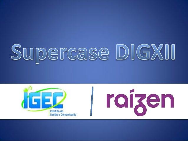 Para quem é o Supercase?  A é uma empresa que já nasce como a 5ª maior do Brasil, graças ao resultado da joint-venture ent...