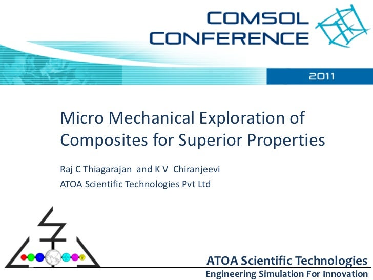 Micro Mechanical Design of Composites  for superior properties