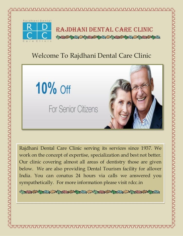 Rajdhani Dental Care Clinic  Welcome To Rajdhani Dental Care Clinic  Rajdhani Dental Care Clinic serving its services sinc...