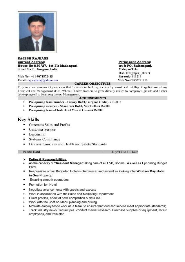 Delightful Resume Format