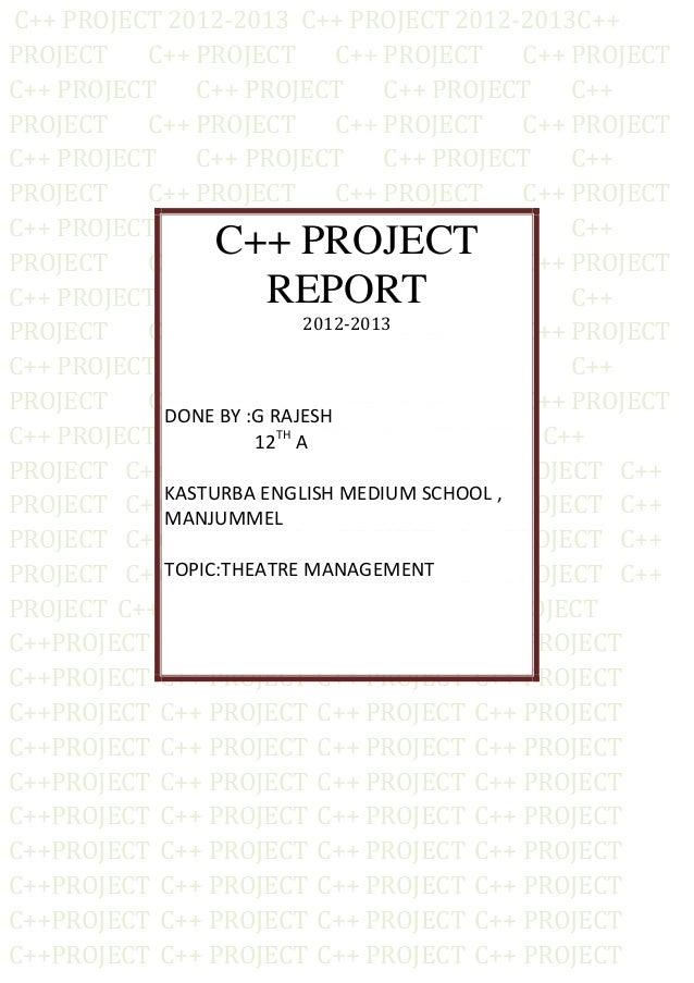 C++ PROJECT 2012-2013 C++ PROJECT 2012-2013C++PROJECT   C++ PROJECT         C++ PROJECT    C++ PROJECTC++ PROJECT    C++ P...