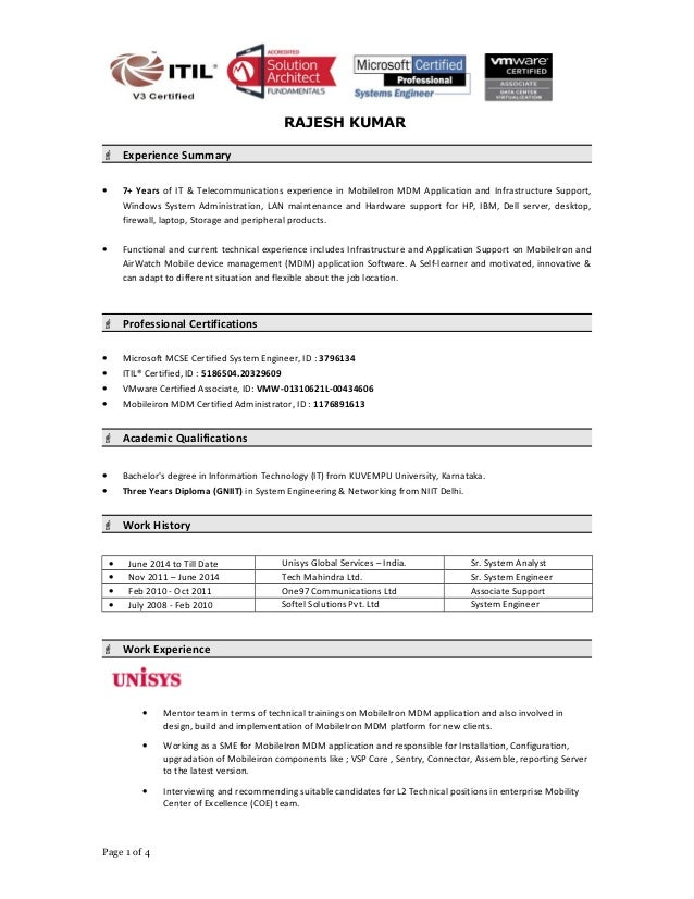 Dba resume examples