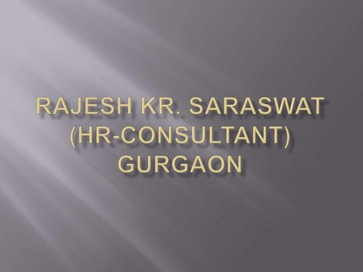 Rajesh saraswat