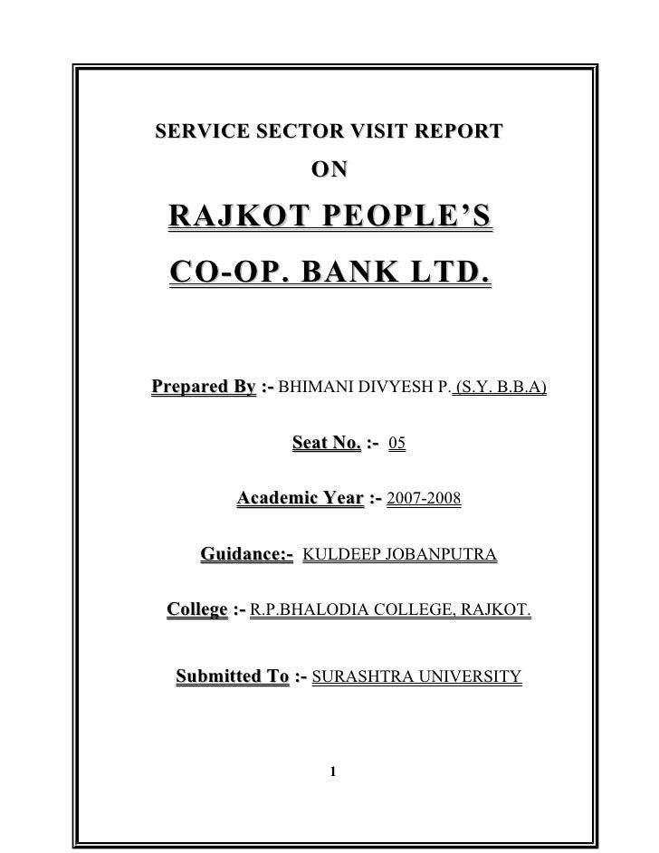 Rajkot people's co op.bank ltd.