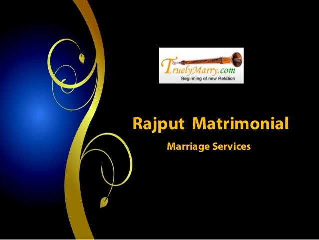 Rajput Matrimonial- Marriage Services