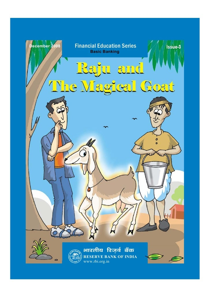 Raju and the magical goat by rbi