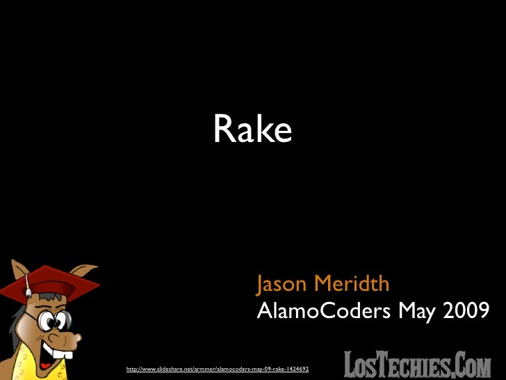 AlamoCoders May 09 - Rake