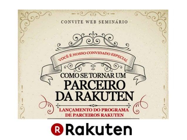 Programa de Parceiros Rakuten