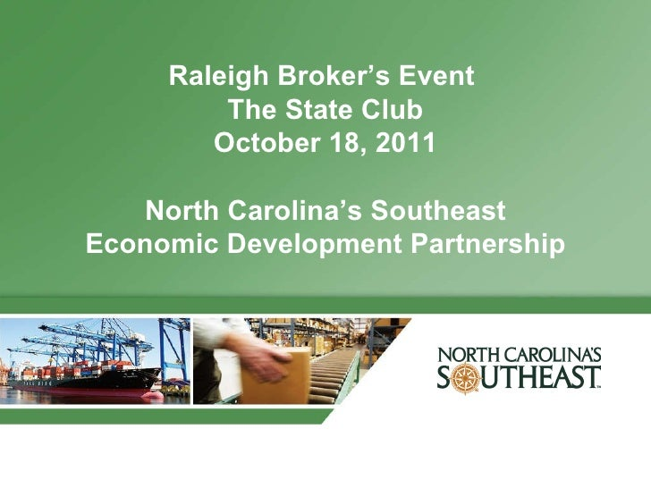 Raleigh brokers event  2011