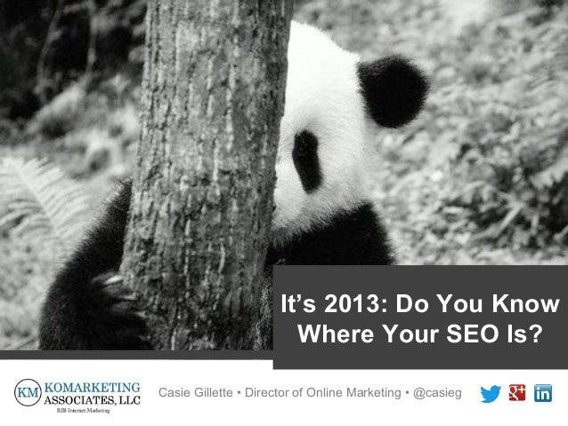 Raleigh SEO Meetup: Content Marketing (aka the New SEO)