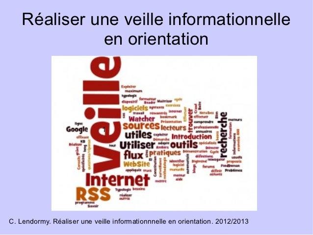 Réaliser. une veille_informationnelle-en_orientation