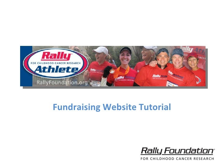 Fundraising Website Tutorial
