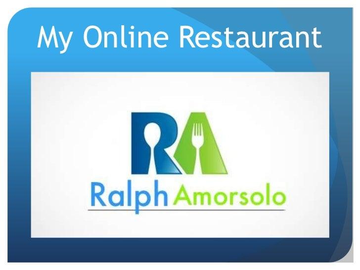 My Online Restaurant