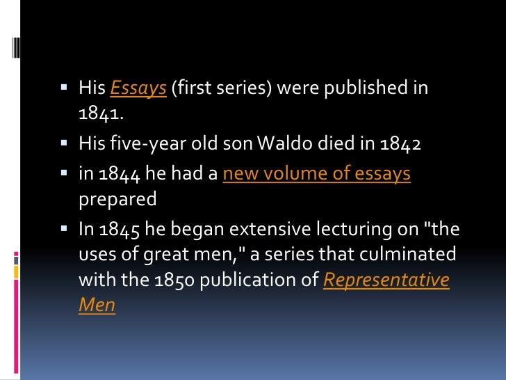 ralph waldo ellison critical essay If you are a teacher searching ralph waldo emerson critical essays for emerson, ralph waldo ralph waldo ellison ralph essay on gregor mendel waldo.