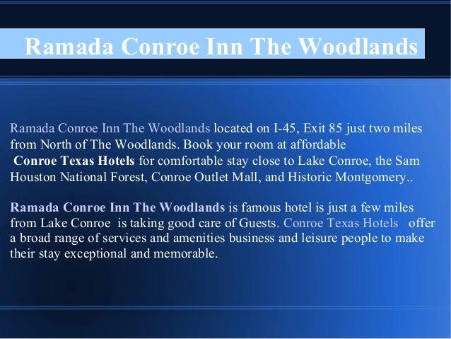 Ramada Conroe Inn The Woodlands