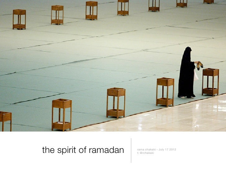 The Spirit of Ramadan