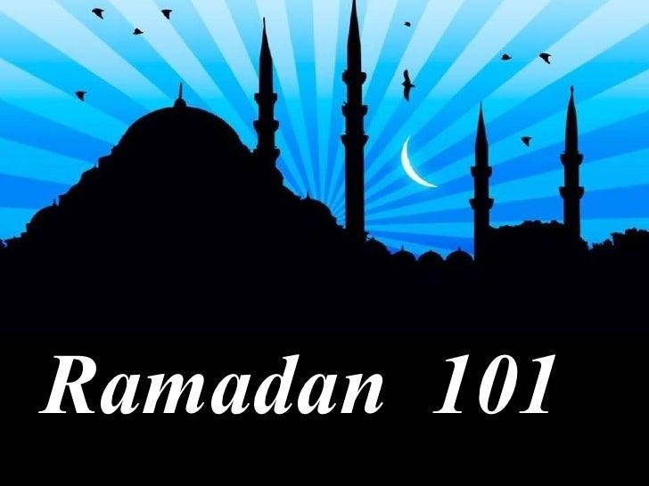 Ramadan 101 Episode No. 01
