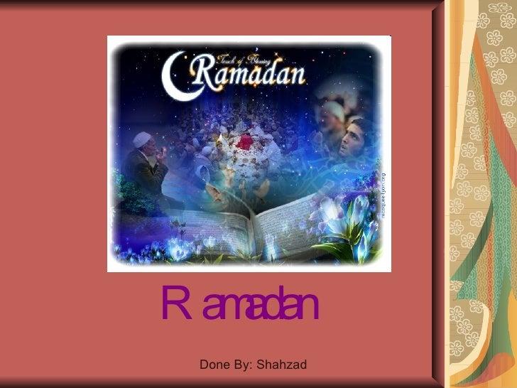 Ramadan powerpoint p.