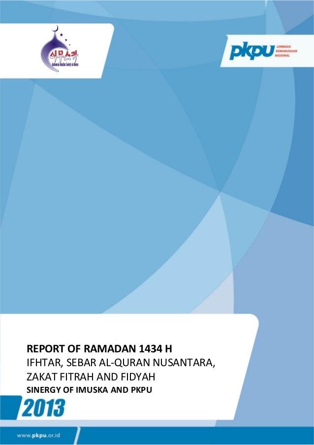 Ramadhan 1434 h imuska 2013